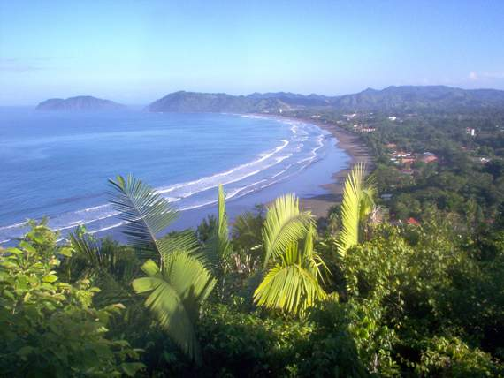 Jaco Beach in Liberia
