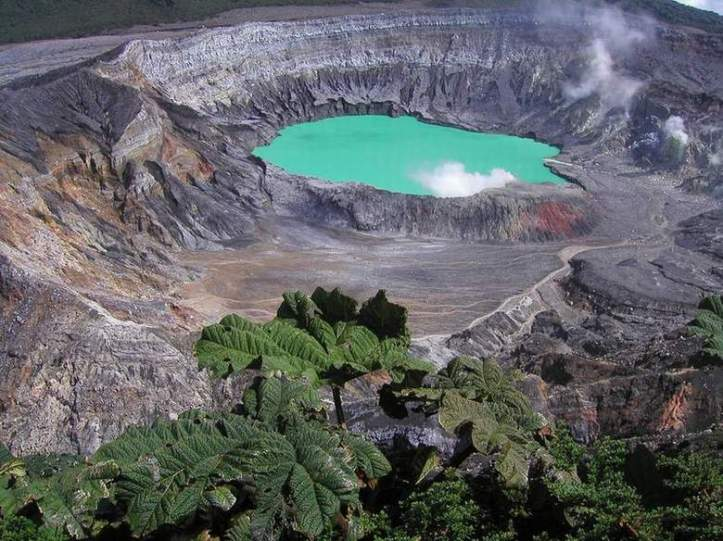 Poas Volcano area