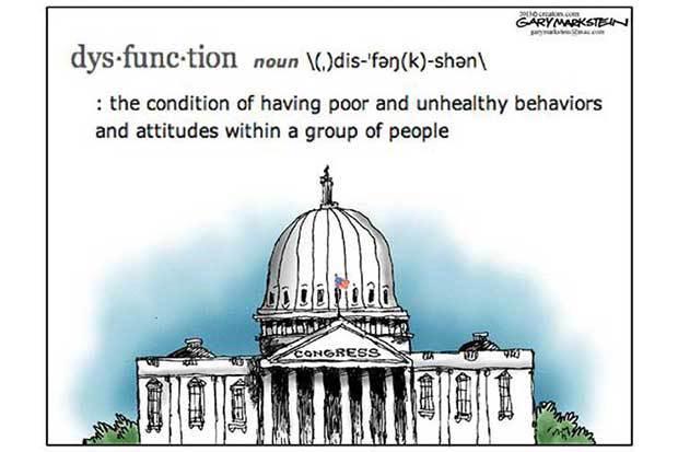 85 dysfunctional congress