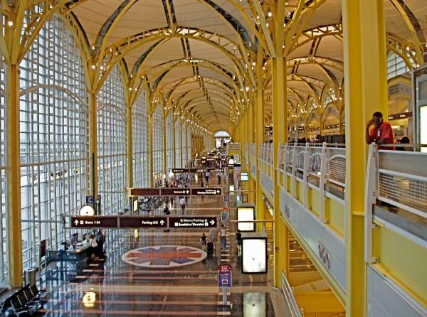 Reagan airport Terminal