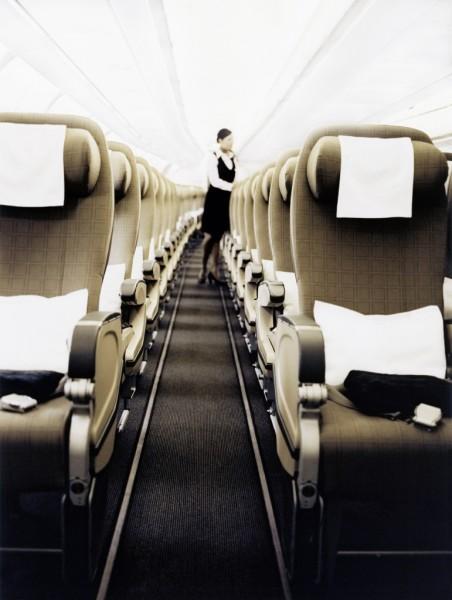 Swiss Airlines interior