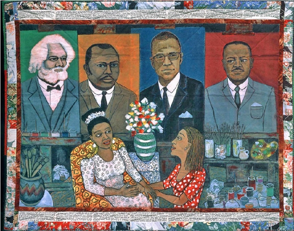 The American Peoples by Faith Ringgold