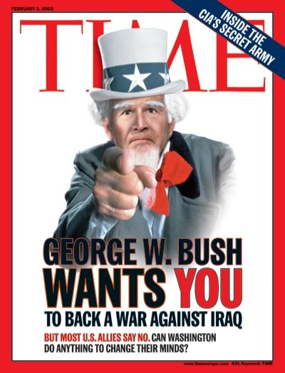 bush time magazine 20030203_400