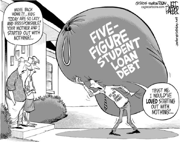 CARTOON GREAT student-loan