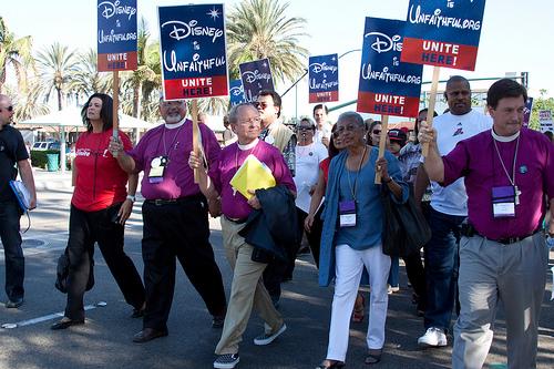 DisneyBreakFlickrJimDeLa protest