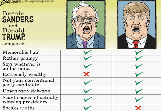 DONALD TRUMP CARTOONS BS AND DT greenberg-Sanders-Trump-cmyk