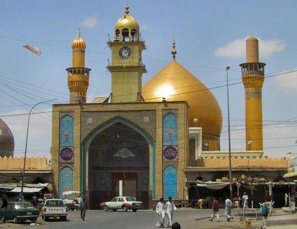 iraq Askariya mosque in Samarrasamarra04