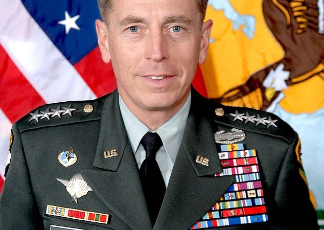 General David H. Petraeus, who assumed command of the United States Central Command in October 2008