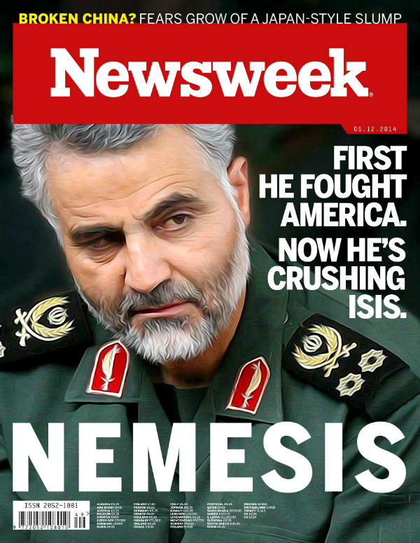 iraq nemesis-cover Qasem Soleimani