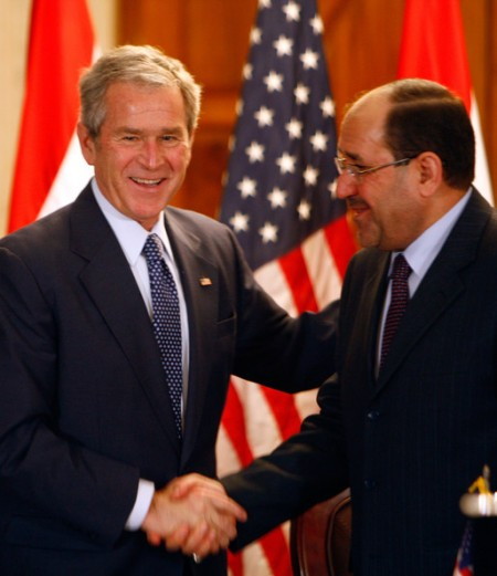 IRAQ Nouri al-MalikiPresident+George+W+Bush+Visits+Troops+Iraq+08ZoXUrOMaxl 90