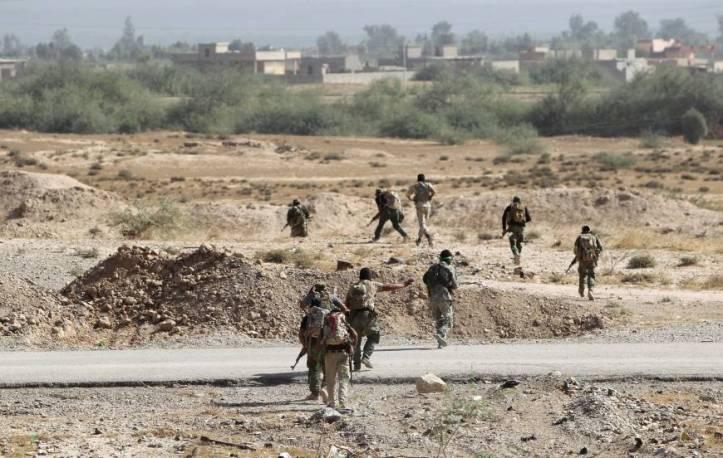 iraqi forces invading baiji RAMADI