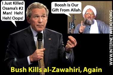 ISIS bush_al_zawahiri