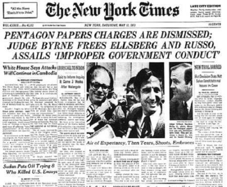 Scope of Snowden's case is similar to Daniel Ellsberg