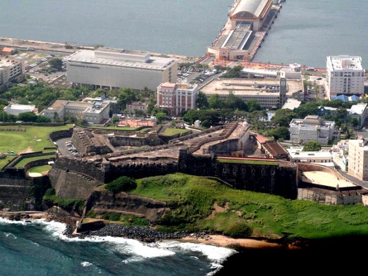 PUERTO RICO Aerial_view_of_Castillo_de_San_Cristobal,_San_Juan,_Puerto_Rico