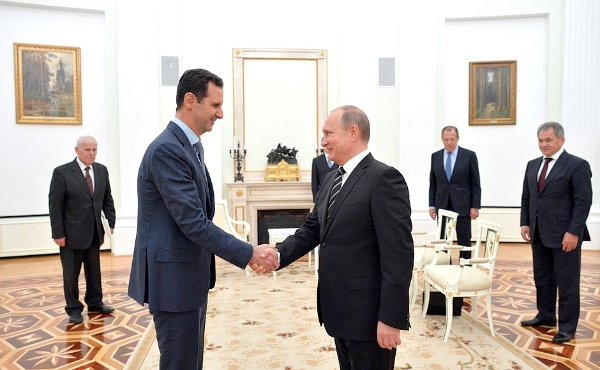Syrian President Assad and President Putin of Russia
