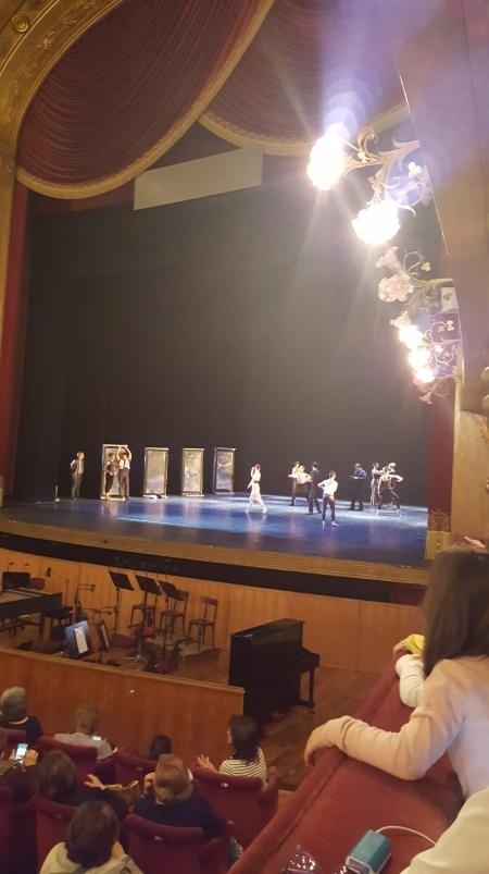 Teatro Massimo's ballet dancers