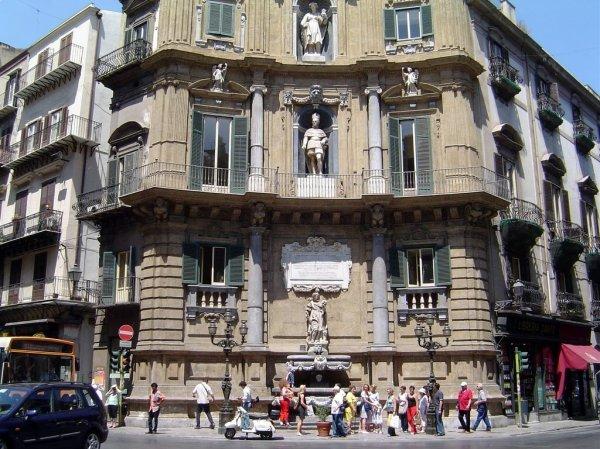 Piazza Quattro Canti Palermo