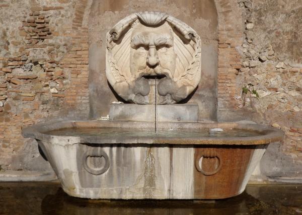 Santa Sabina Fountain