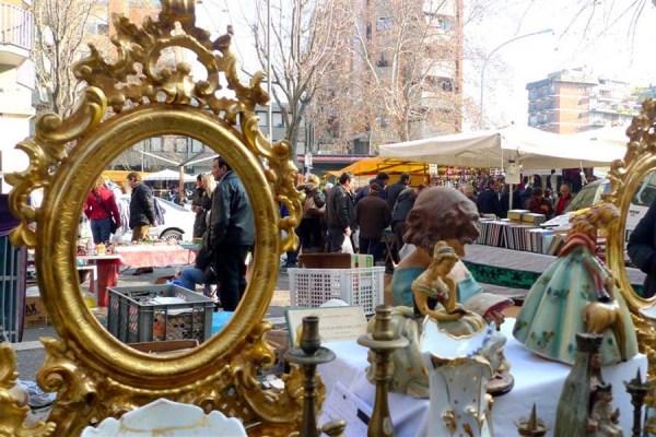 Trastevere Sunday Flea Market