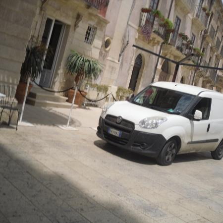 Excursion Sicily tour company's typical van.