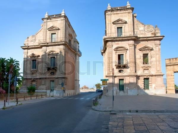 BaroqueTriumphal Gateway in the port area, Porta Felice