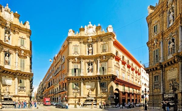 Quattro Canti, Palermo