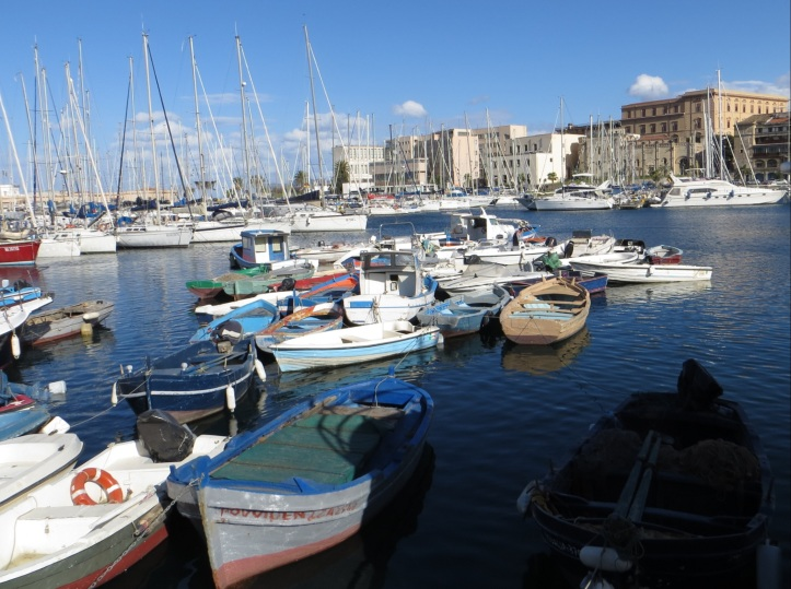 Palermo's harbor area