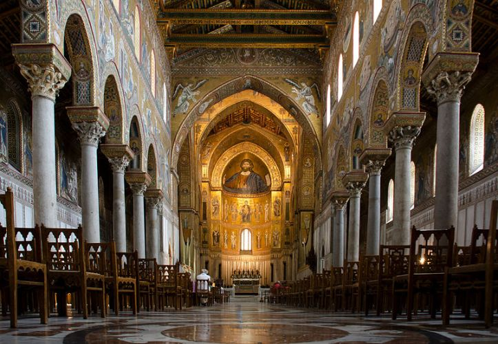 Norman Cathedral in Monreale, Sicily