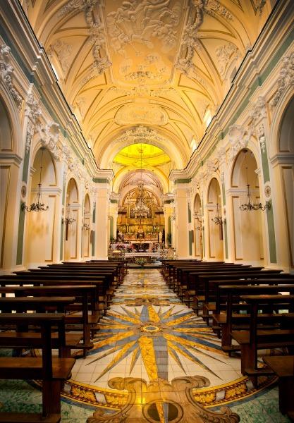 Interior of San Gennaro Parish Church