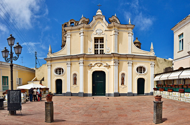Anacapri Santa Sofia Church