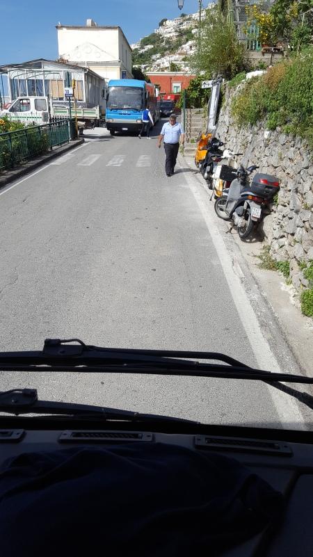 Amalfi Coast traffic