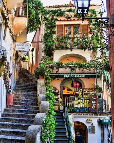 Positano steps
