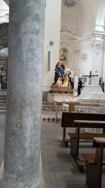 Interior Ravello Church