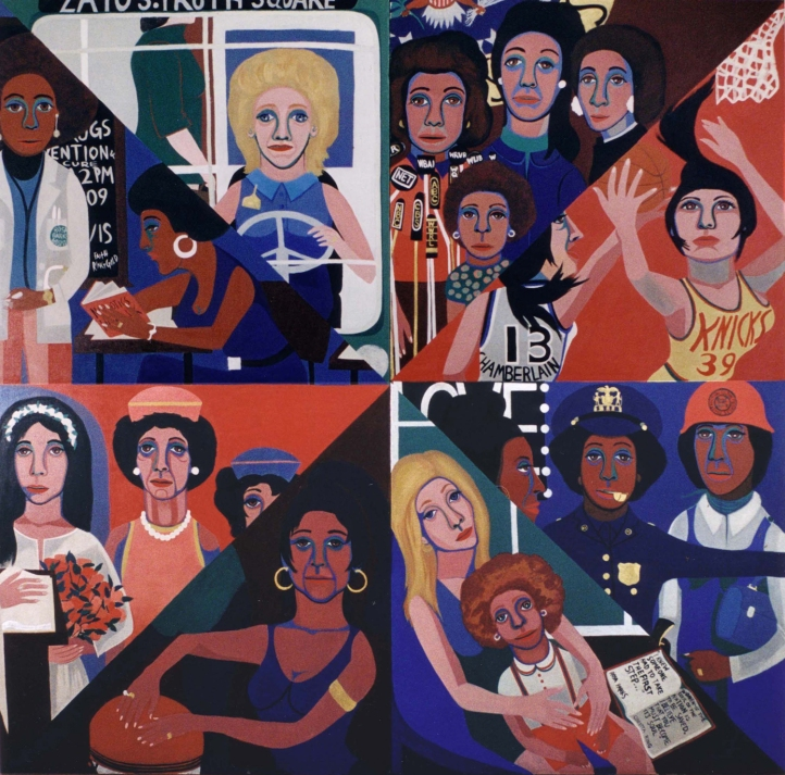 American Peoples by Faith Ringgold