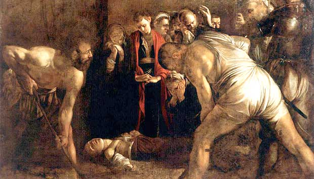 Caravaggio's Burial of St. Lucy