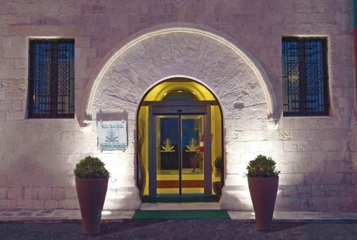 Domus Maraie Benessere spa next door to Algila Ortigia Charme Hotel
