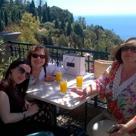 Our tour guide, Daniela from Palermo Walks; 0039-320 751 1078; info@palermowalks.org.