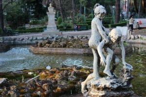 Statue bambini Giardino Inglese