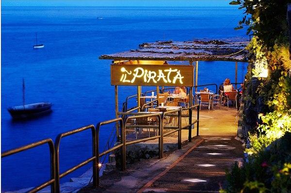 praiana entrance_il_pirata_restaurant_praiano_amalfi_coast