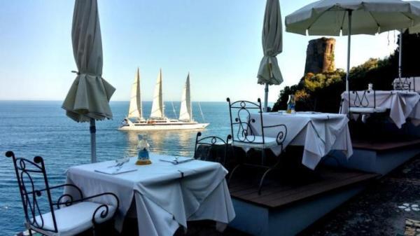 praiano amalfi Hotel-Onda-Verde-photos-Exterior-Hotel-information terrace eating area