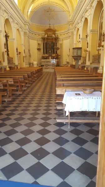 Inside San Vincenzo Church