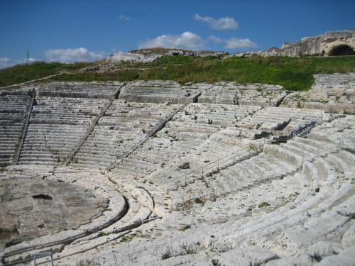 Siracusa (Syracuse) 3rd century Greek amphi-treatro