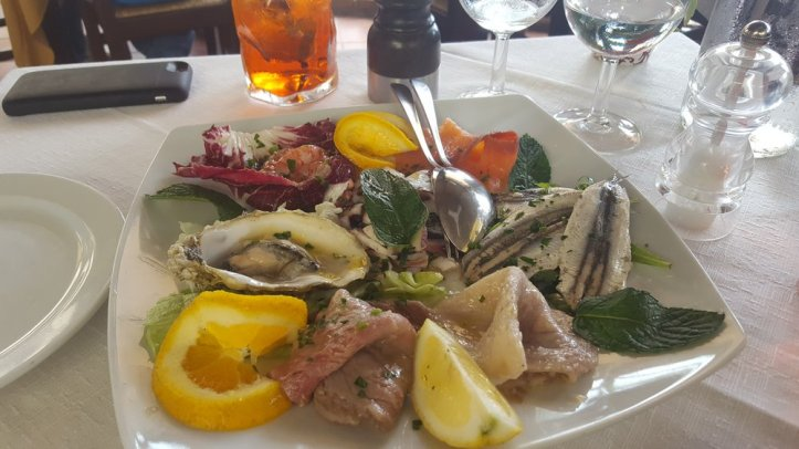 seafood apetizer