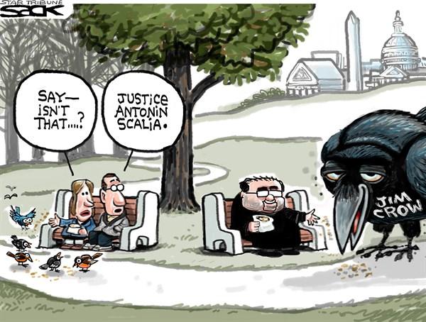 elections good cartoon scalia and jim crow vra