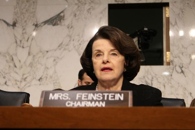 elections good pix Senator Dianne Feinstein