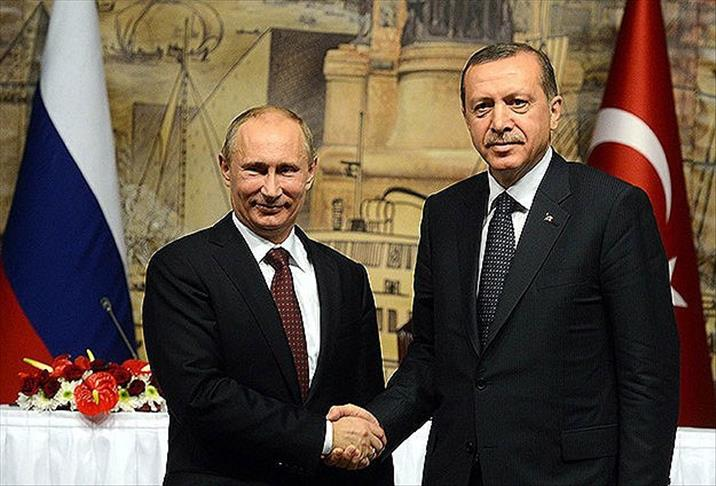 Turkey's President Erdodan and President Putin