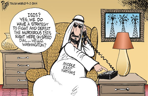 isis great cartoon arab dialing us untitled