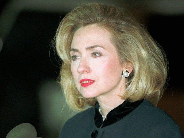 Hillary Rodham in her 30s