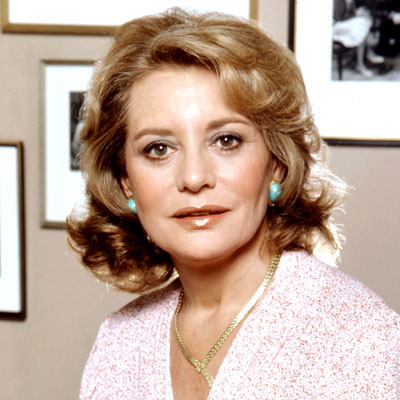 Young Barbara Walters