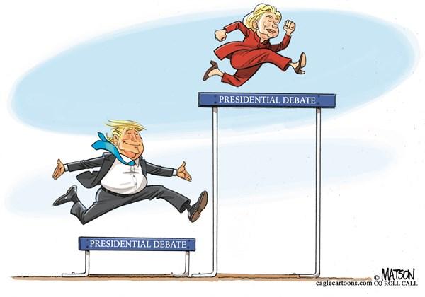 cartoon-hrc-v-dt-firstdebate-matson